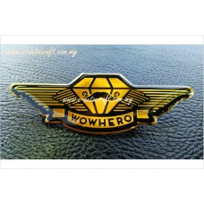 Badge Wing Gold Gloss2D Etching