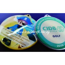 Hanging Medal  Full Color Printing HM_01