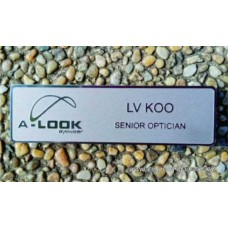 Name Tag Stainless Steel 2D Etching