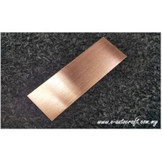 Name Tag Bronze Hairline2D Etching @ Printing