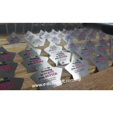 Badge Stainless Steel2D Etching