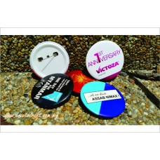 Button Badge Full Color Printing BB_58