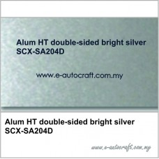 Alum HT double-sided bright silverSCX-SA204D
