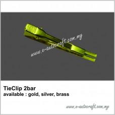 TieClip 2-bar