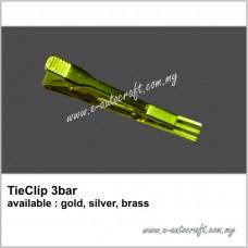 TieClip 3-bar