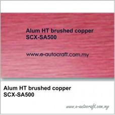 Alum HT brushed copperSCX-SA500