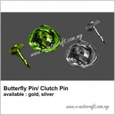 Butterfly pin/ Clutch Pin
