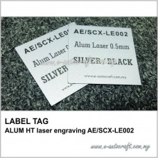 LABEL TAGALUM HT laser engraving AE/SCX-LE002