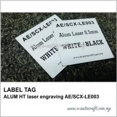 LABEL TAGALUM HT laser engraving AE/SCX-LE003