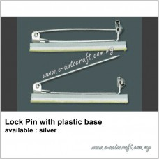 Lock Pin with plastic base