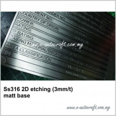 2D etching SS316-3mm