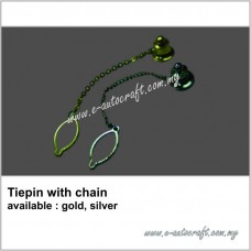 Tiepin with Chain
