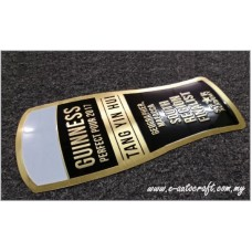 Customize Plate 2D Etching Brass Polishing Hairline Plaque/BPH_01