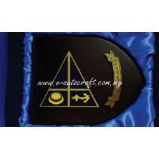 Customize Wooden Plaque  2D Etching Diecut Shape Plaque/WOOD_01